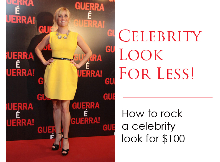 Reese Celebrity look for less 2