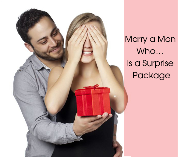 Marry Suprise package man 3