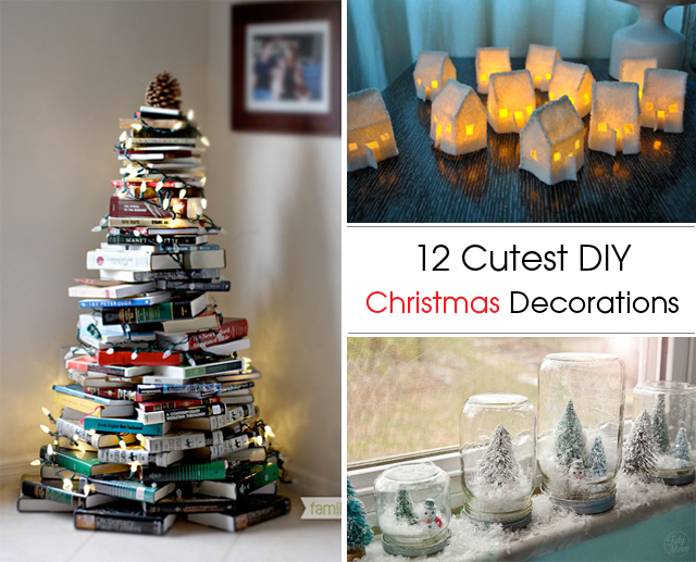 12 Festive DIY Christmas Decorations | Graceful Chic