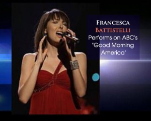 cover Francesca B on GMA