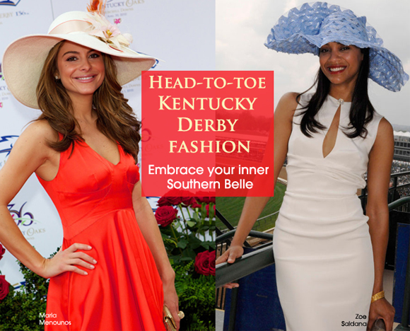 Head-to-toe Kentucky Derby fashion | Graceful Chic