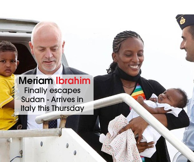 Meriam Ibrahim is free cover