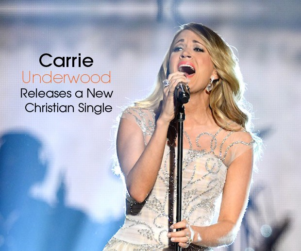 Carrie U New Christian Single cover