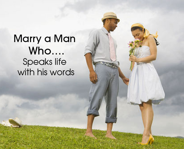 Cover Marry man that speaks life
