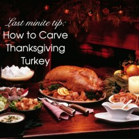 cover how to carve turkey