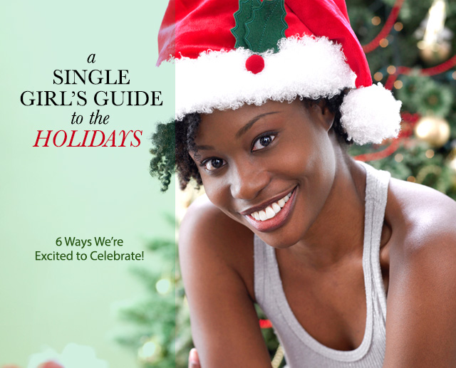 New Single Girls Guide to the Holidays Cover