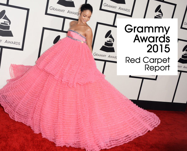 Cover Grammys 2015 Red Carpet