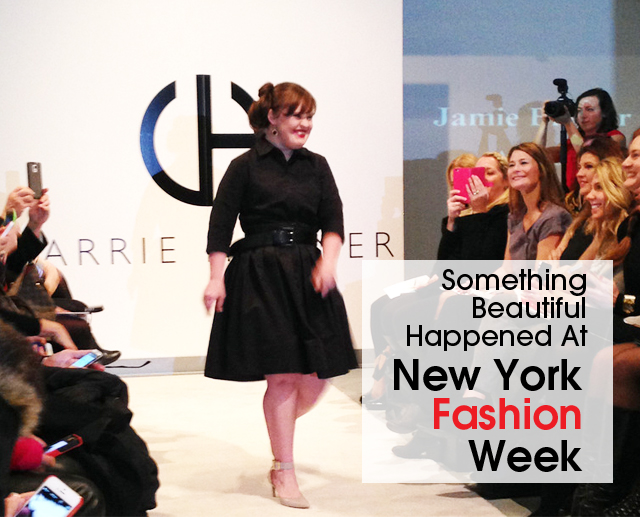 cover Jamie Brewer NYFW