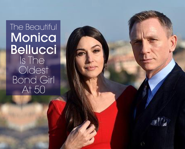 cover Monica Bellucci Bond Girl