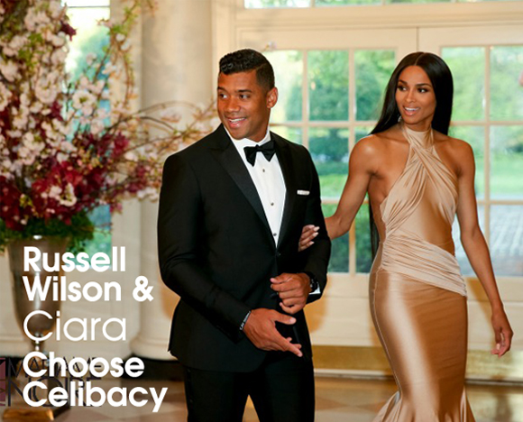 Inside cover 1 Russell Wilson Ciara Waiting