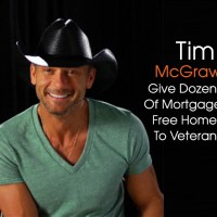 cover Tim McGraw gives houses to Veterans