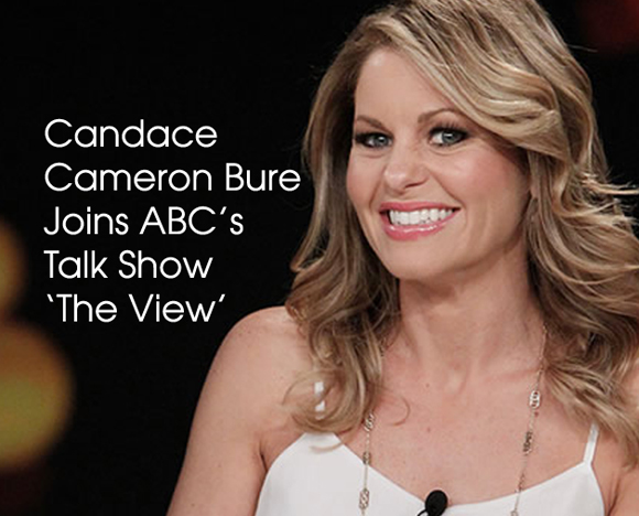 inside cover Candace Cameron Bure The Viiew
