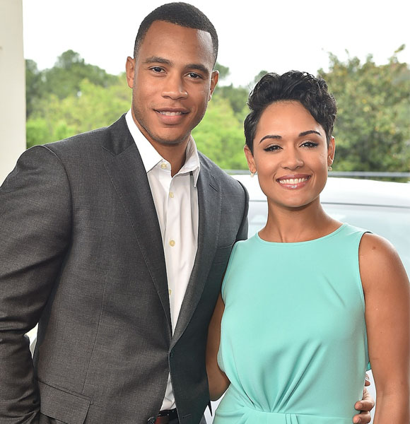 inside image 2 Trai Byers angaged to co-star