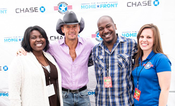 inside image 3 Tim McGraw free homes for Vets
