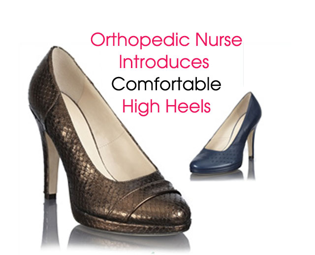Cover 1 Comfortable High Heels