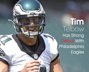 Cover Tim Tebow Eagles Debut