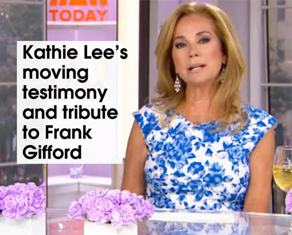 inside cover Kathie Lee Gifford Testimony