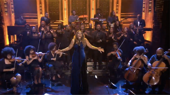 inside image 2 Yolanda Adams Tonight Show