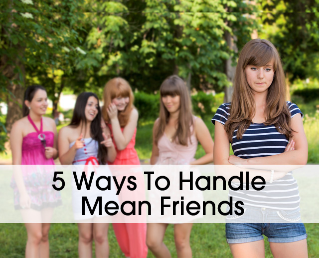 Cover 5 Ways Handle Mean Girls