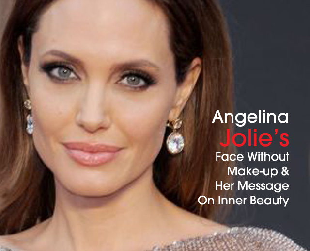 Cover Angelina Jolie No Make Up