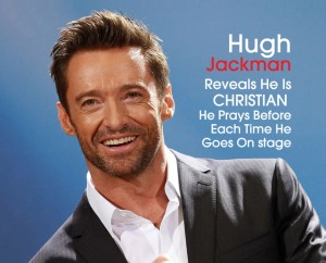 Cover Hugh Jackman is Christian