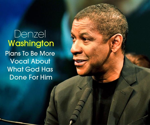 Cover Denzel more vocal about God in 2015