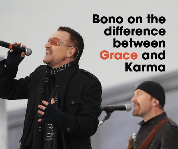 Cover Bono on Mercy and Karma