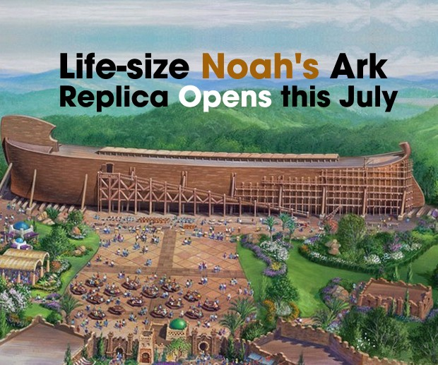 cover Noah's Ark Replica