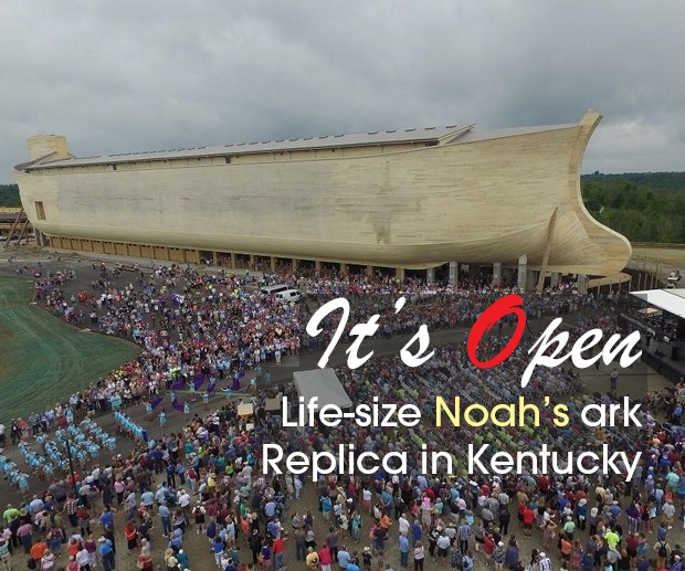 Cover Noahs ark in Ky opens